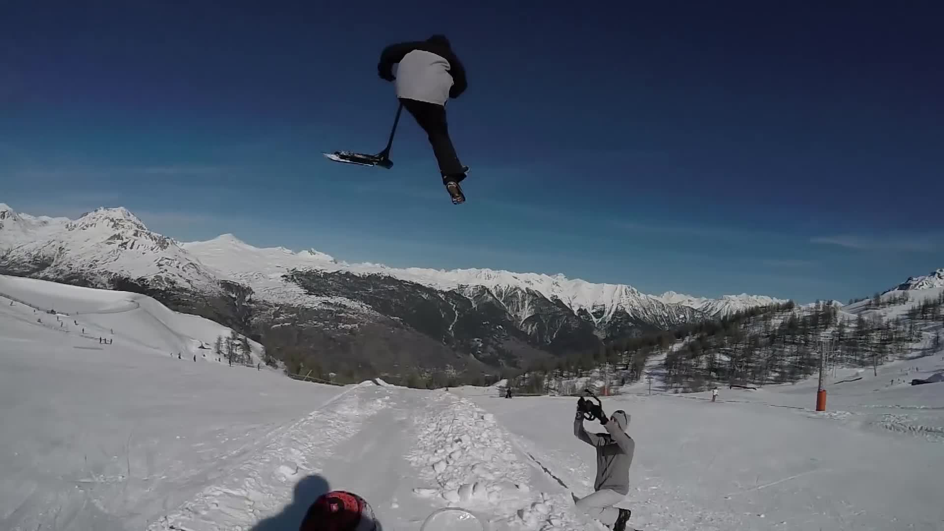Eretic Snowscoot, end of 2017