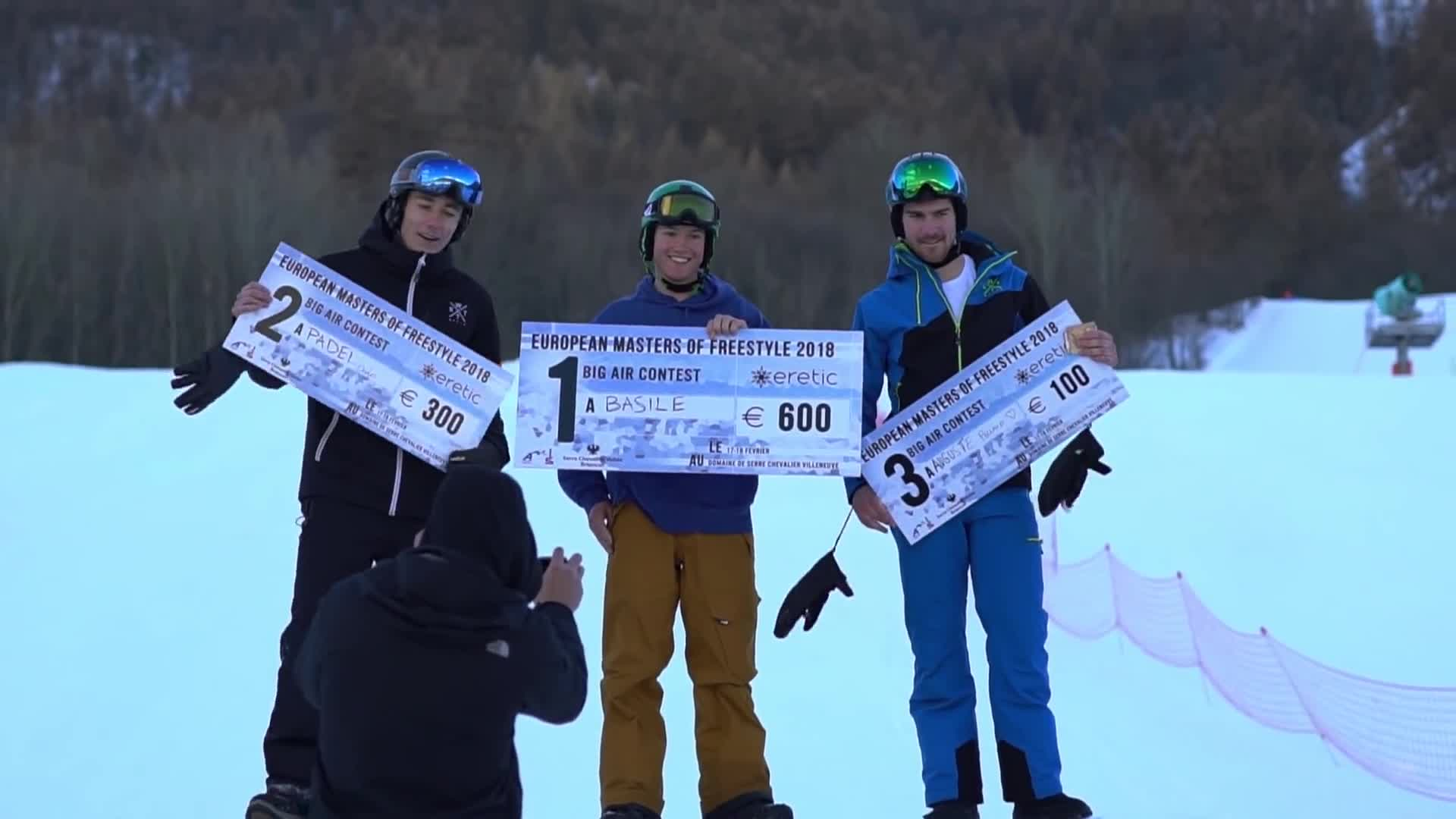 Eretic Snowscoot European Masters of freestyle 2018