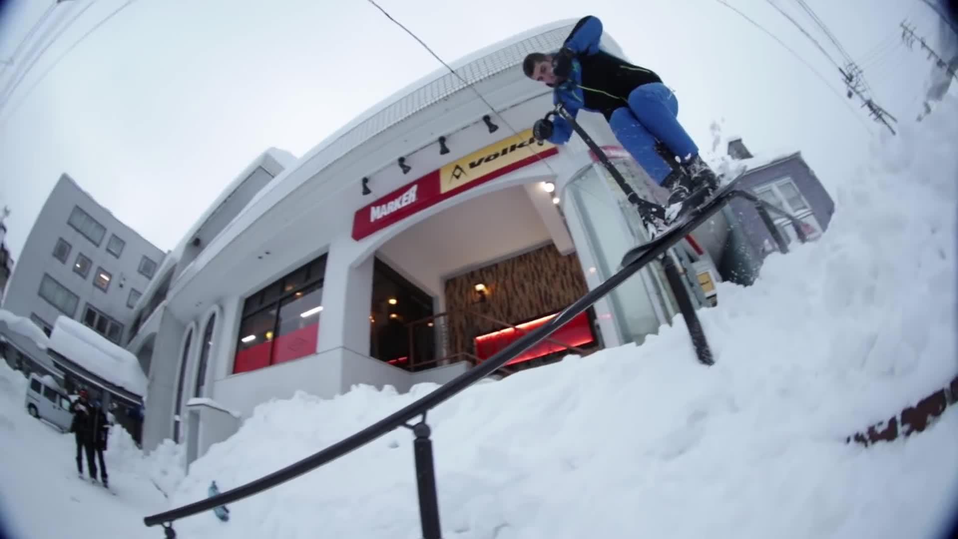 Eretic Snowscoot - JAPAN TRIP