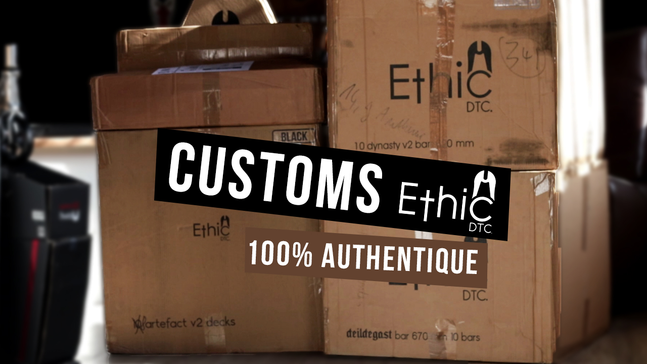 Authentique Scooter Chill : ETHIC DTC Customs