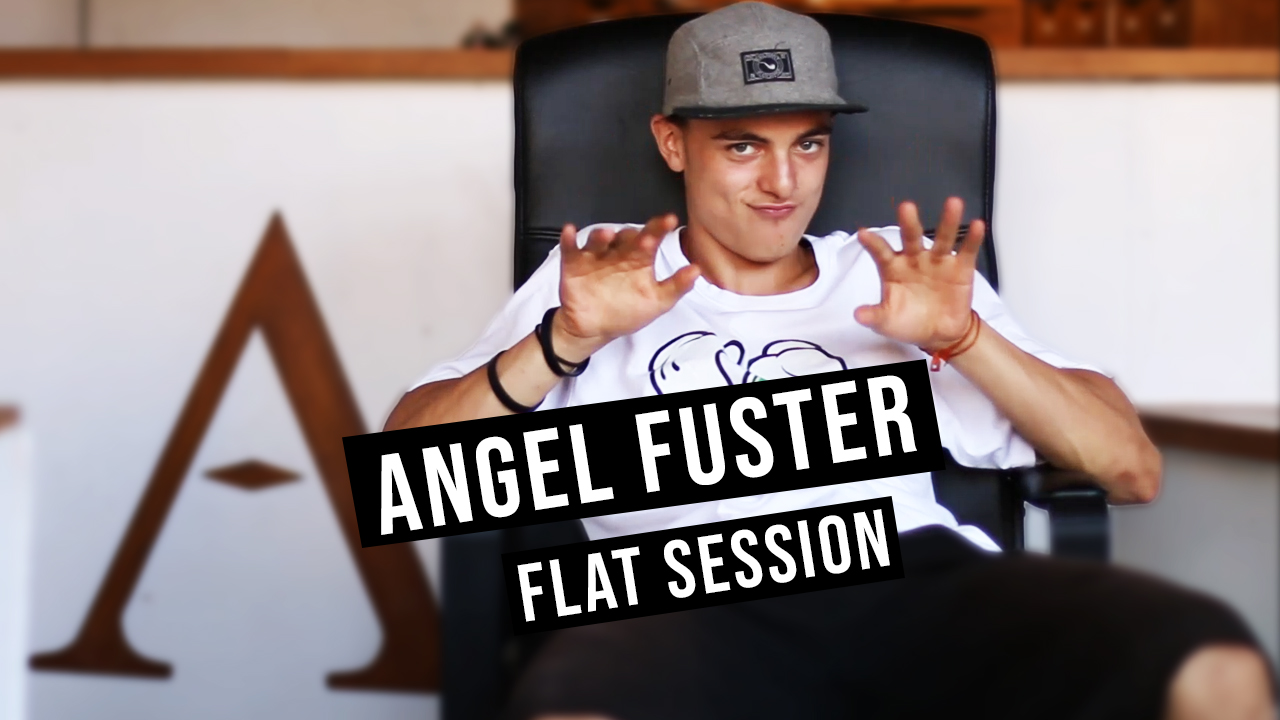 Authentique Scooter Chill : ANGEL FUSTER - Flat Session
