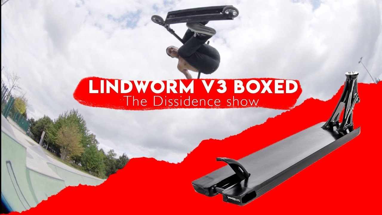 The Dissidence Show - Episode 6 : Review Ethic Lindworm V3 boxed !
