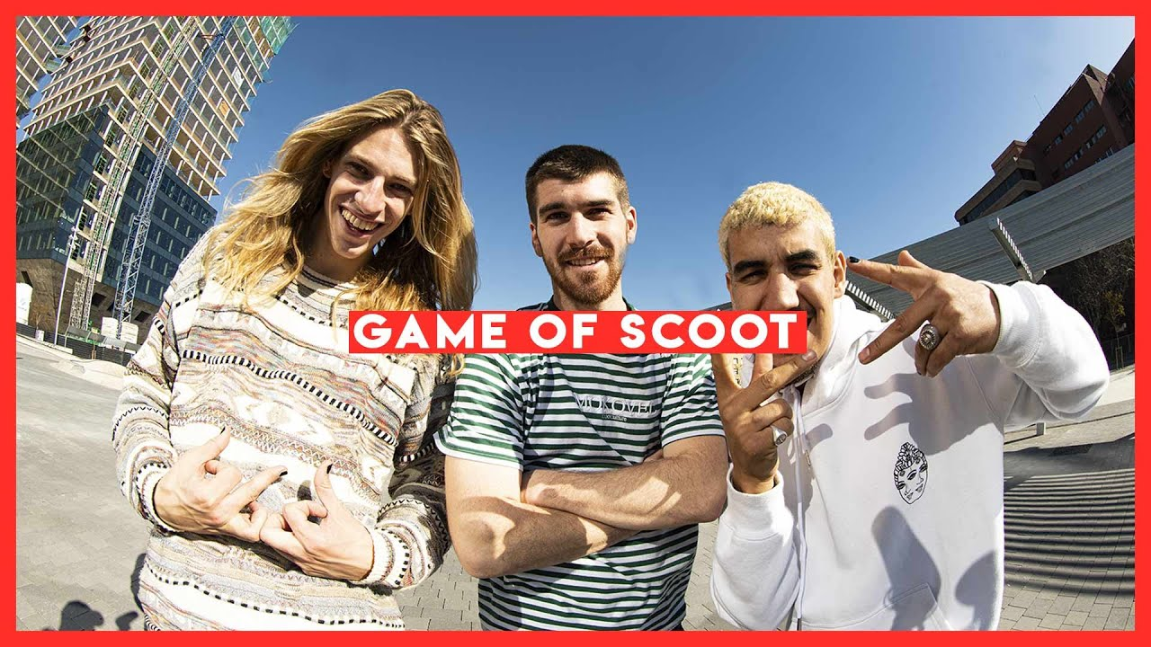 The Dissidence Show - Game Of Scoot (Juzzy, Didine, Bouzid, Pellaud, Ivan, Luluceazy)