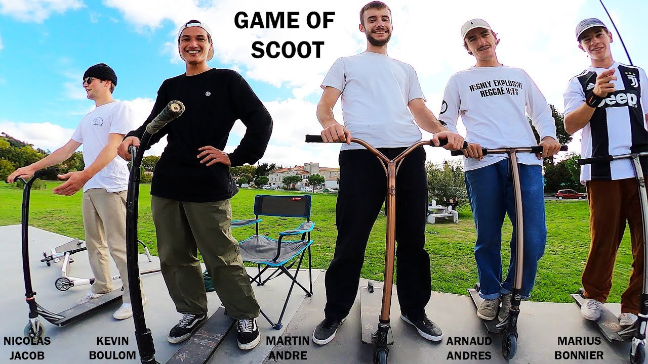 Game of scoot - WISE - Martin André - Arnaud Andres - Kevin Boulom - Marius Bonnier - Nicolas Jacob